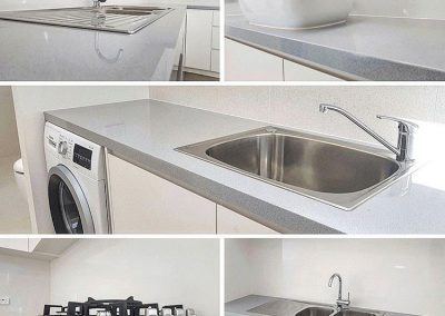 engineered marble bathroom laundry